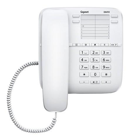 Gigaset DA410 gigaset gigaset бренд siemens оригинальный 6002 отель телефон домашний телефон висит стена белый
