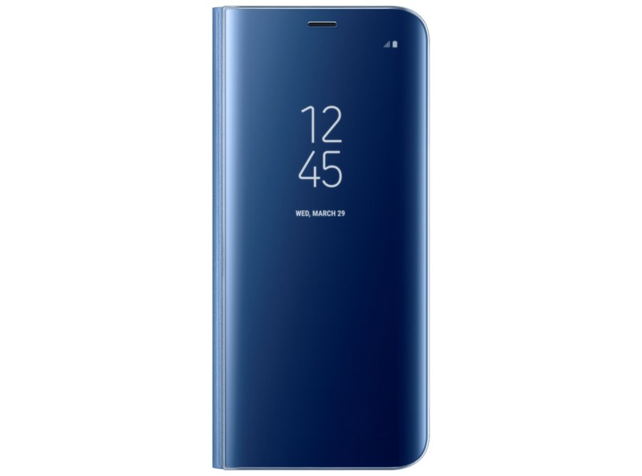 Samsung Galaxy S8 Plus ClearView Standing blue EF-ZG955CLEGRU